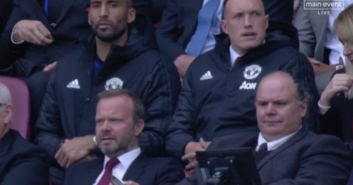 Ed Woodward Phil Jones