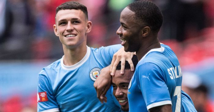 Phil Foden Raheem Sterling TEAMtalk