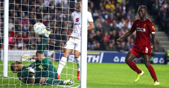 Stuart Moore MK Dons Liverpool TEAMtalk