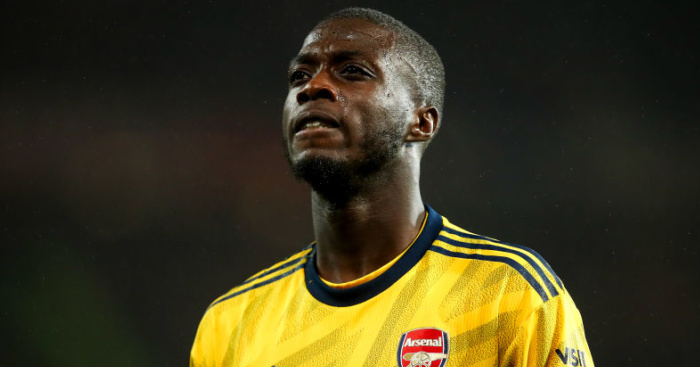 Nicolas Pepe Arsenal TEAMtalk