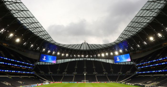 Tottenham stadium TEAMtalk