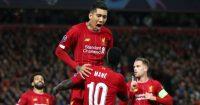 Roberto Firmino Sadio Mane Liverpool celeb Salzburg TEAMtalk