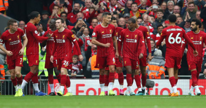 Last-gasp Milner penalty sees Liverpool beat Leicester to stay 100%