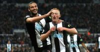 Andy Carroll Matty Longstaff Newcastle celeb Man Utd TEAMtalk
