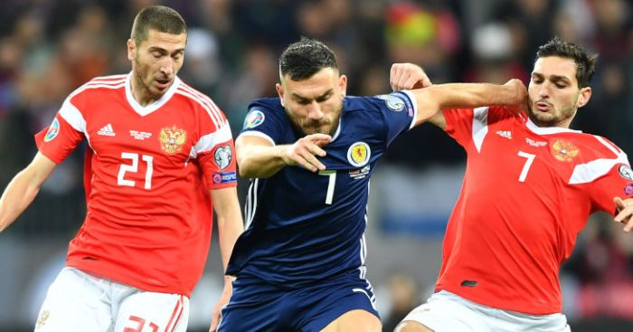 Snodgrass reveals why time is right to retire from Scotland duty