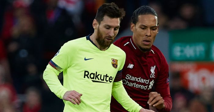 Lionel Messi; Virgil Van Dijk TEAMtalk