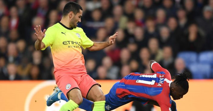 City cruise to victory over Palace to close the gap on Liverpool