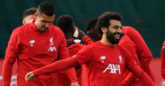 Lovren Salah Liverpool TEAMtalk