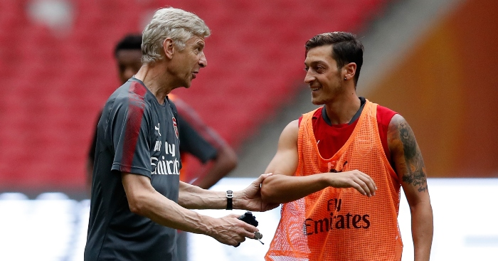 Wenger Advises Arsenal On How They Can Still Get Best Out Of Ozil