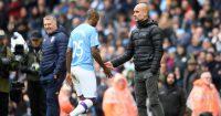 Pep Guardiola Fernandinho Manchester City