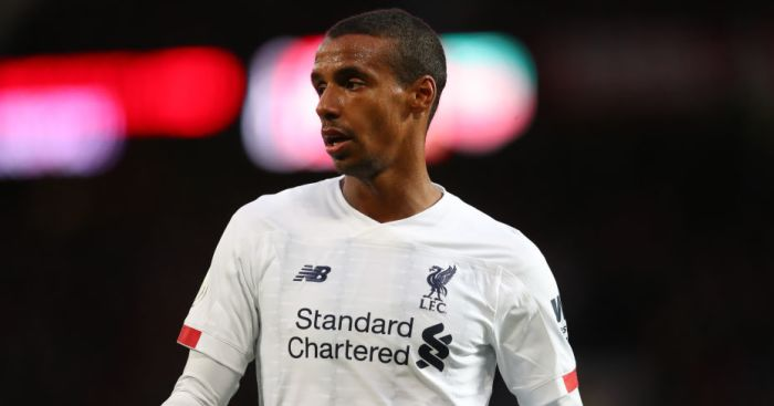 Matip explains how he is tackling task of being only Liverpool centre-back - team talk