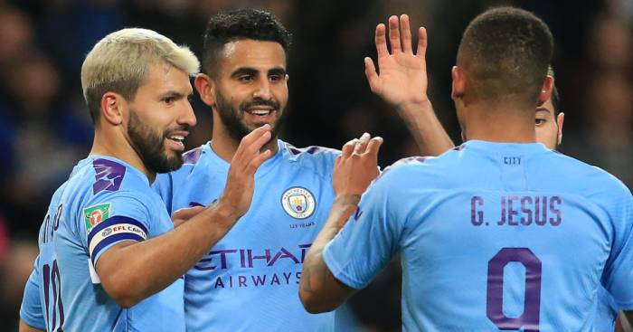 Aguero Mahrez Jesus Man City TEAMtalk