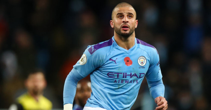 Kyle Walker Manchester City TEAMtalk