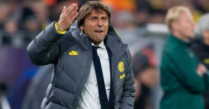 Inter Milan deny Conte was target after receiving bullet in post