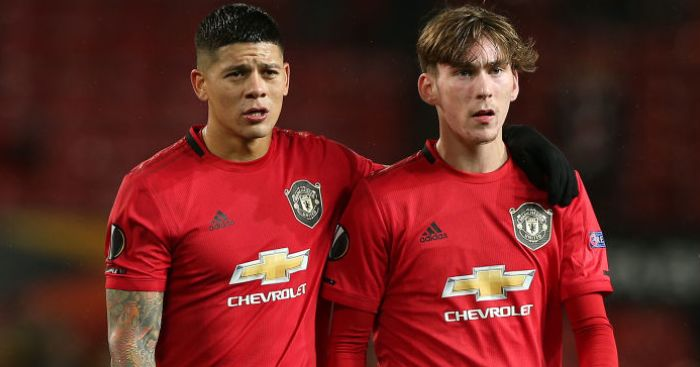 Marcos Rojo James Garner TEAMtalk