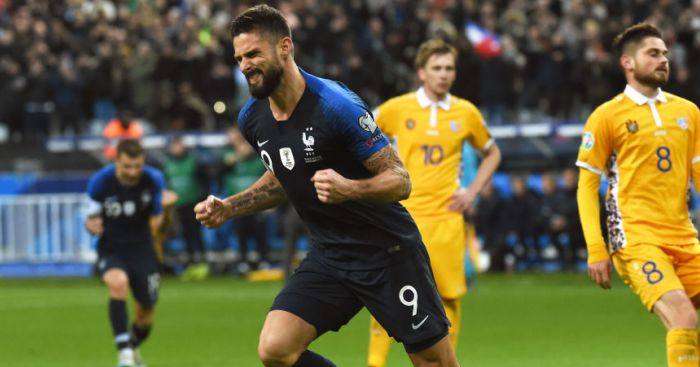 Olivier Giroud France TEAMtalk