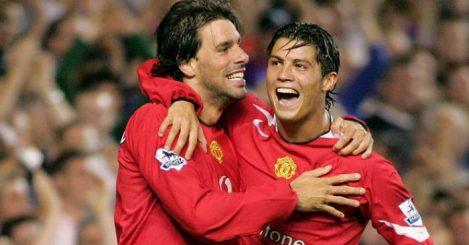 Ruud van Nistelrooy; Cristiano Ronaldo TEAMtalk