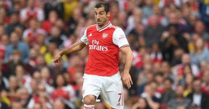Mkhitaryan Arsenal TEAMtalk