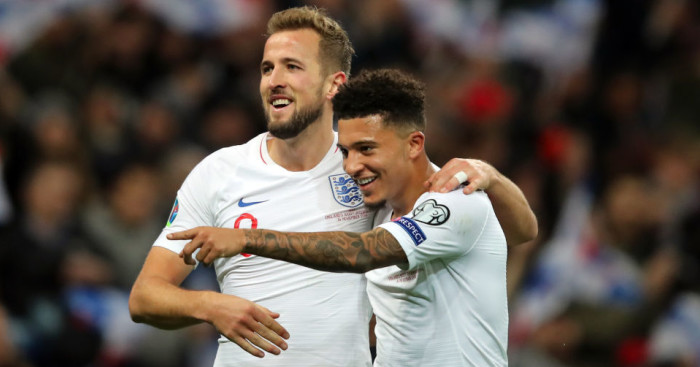 Harry Kane; Jadon Sancho TEAMtalk