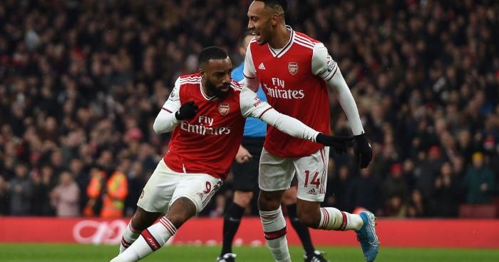 Arsenal Lacazette Aubameyang