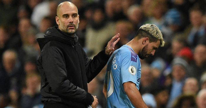 Guardiola reveals serious injury worry for Aguero and Man City