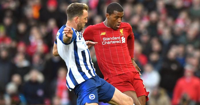 Dale.Stephens.Georginio.Wijnaldum - Euro Paper Talk: Arsenal to launch €30m striker bid as bizarre Lacazette exit talks are held; Man Utd eye Spain record-breaker