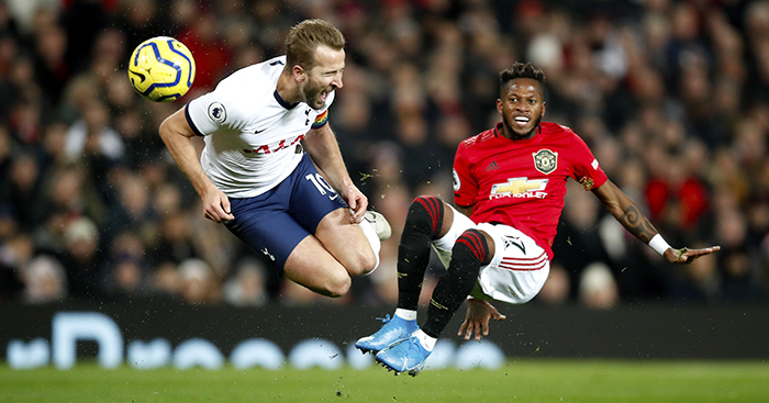 Mourinho points to dominant Man Utd man; admits his Spurs struggles to alter intensity
