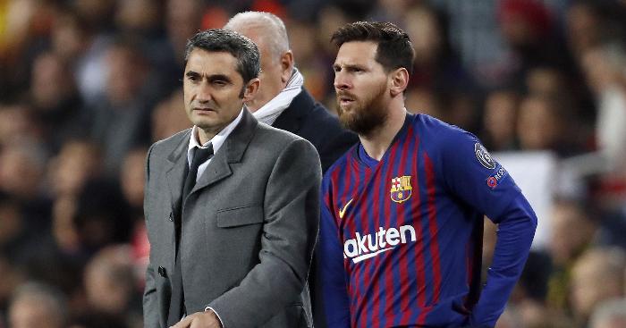 Ernesto Valverde has his say on Lionel Messi retirement rumours