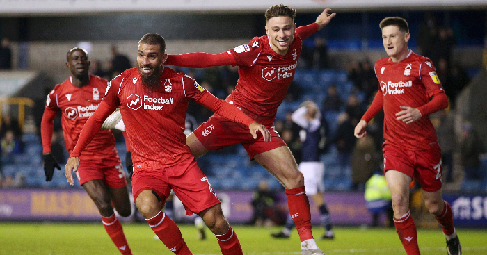 Millwall and Forest share the points after late drama at The Den