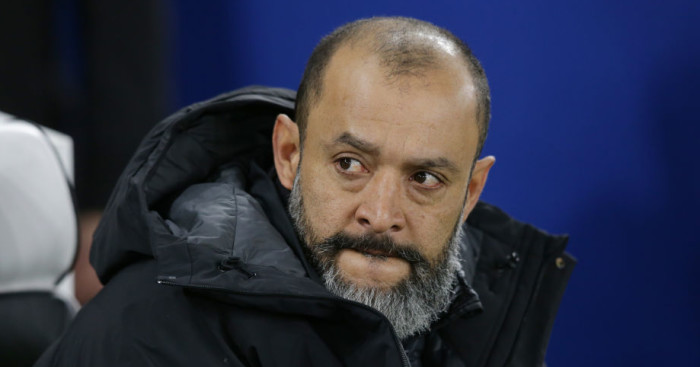 Nuno reveals frustration at failure of £16m Wolves summer signing