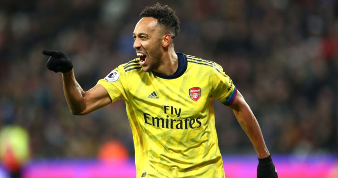 auba3 1 - Pepe stars as Arsenal rediscover long-lost hunger to stop winless rot
