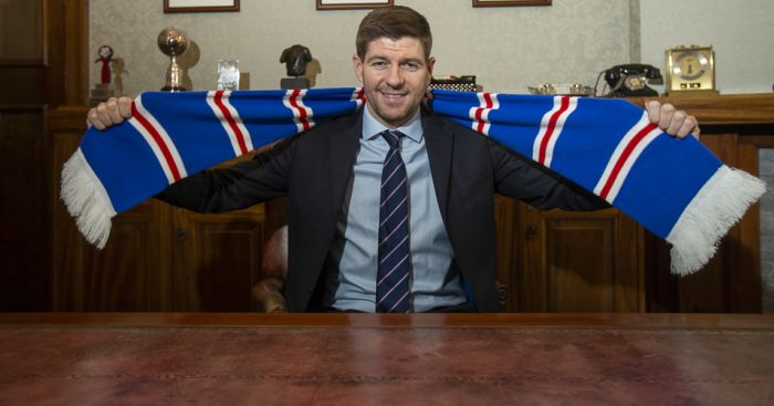 Gerrard has stinging words for referee after Alfredo Morelos red card | teamtalk.com
