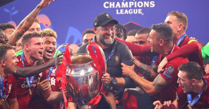 Klopp Champions League trophy TEAMtalk