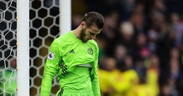 David De Gea Man Utd TEAMtalk - Man Utd crash back down to earth with shock loss at bottom club Watford