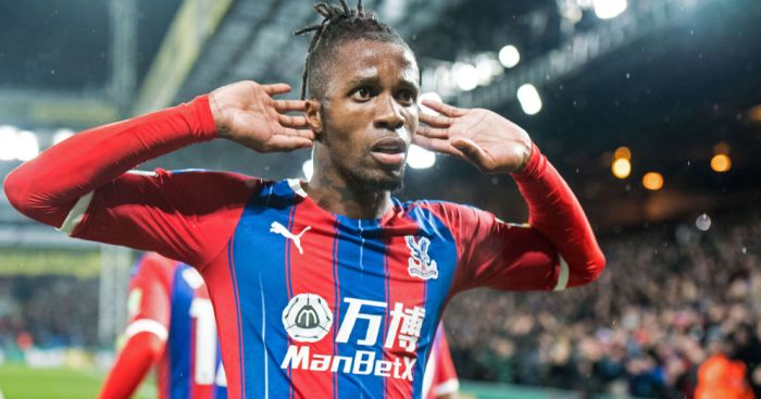 Wilfried Zaha TEAMtalk