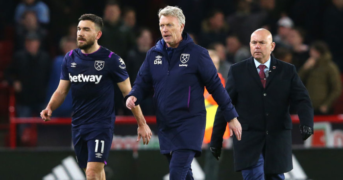 Moyes blasts 'wrong' decision after VAR denies West Ham a point