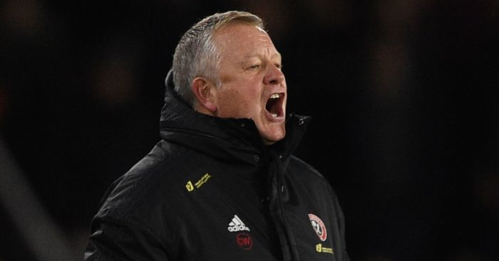 Chris Wilder Sheffield United TEAMtalk