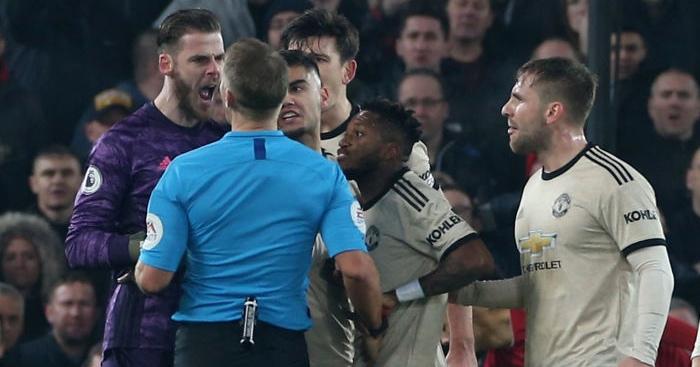 Man Utd charged after unsavoury behaviour towards ref Craig Pawson