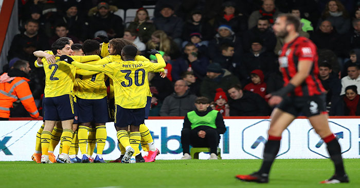 Arteta reveals what he 'didn't like very much' about win at Bournemouth