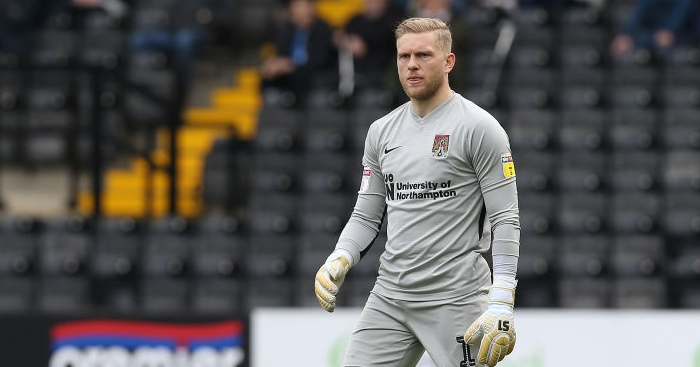 Northampton shot-stopper on Blackburn Rovers radar