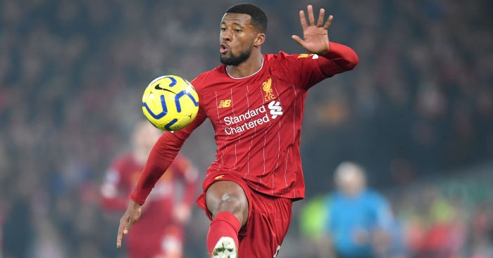 wijnaldum 11 - Pundit picks two areas of weakness in Jurgen Klopp's Liverpool squad