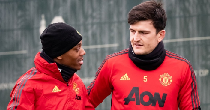 Harry Maguire; Anthony Martial TEAMtalk