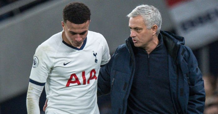 Mourinho goes wild for Spurs favourite; explains Dele Alli bench role - team talk