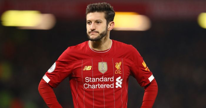 Familiar face makes approach for Liverpool midfielder Adam Lallana