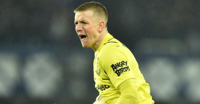 Ancelotti fires strong warning to Pickford over shaky Everton form