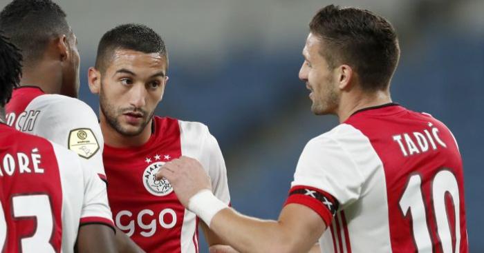 Miserable Van der Vaart comments on Chelsea's Ziyech swoop