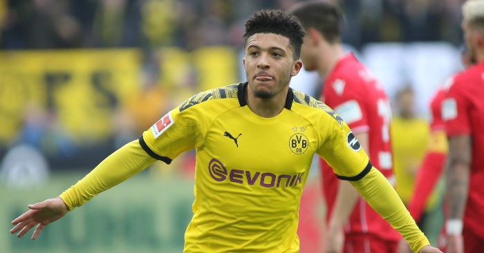 Comparing Sancho's 2019-20 stats to Liverpool's forwards – PF