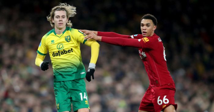 Liverpool storm ahead of Man Utd for Norwich ace after imposing display