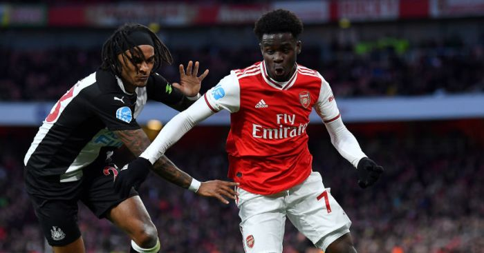 Arsenal moving quickly to keep Saka away from Liverpool