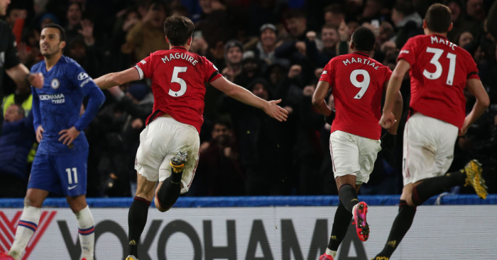 Maguire lucky to escape red as Man Utd sink Chelsea 2-0 in crazy game - team talk